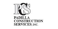 Padilla Construction Services logo