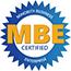 MBE certified logo