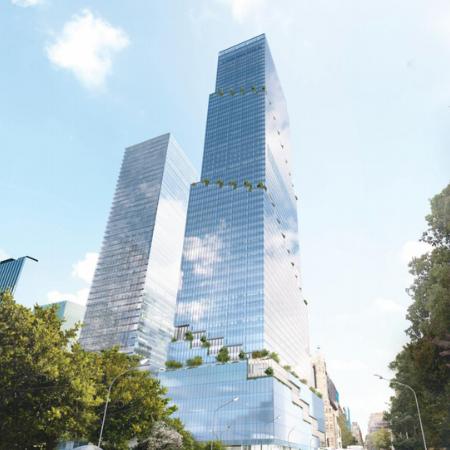 Spiral Building at 66 Hudson Yards